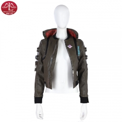 Cyberpunk 2077 women jacket customize game replica coat Manluyunxiao
