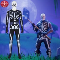 Fortnite Skull Trooper cosplay costume Halloween special sale Manluyunxiao