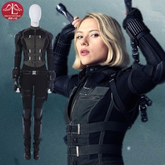 Avengers Infinity War Black Widow Natasha Romanoff outfits  cosplay costume customize Manluyunxiao
