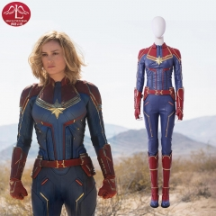 Captain Marvel Carol Danvers cosplay costume Marvel comic costume Manluyunxiao