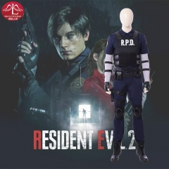 Resident Evil 2 Remake Leon Scott Kennedy cosplay costume customize Manluyunxiao