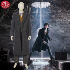 Fantastic Beasts The Crimes of Grindelwald Newt Scamander replica cosplay costume outfit customize Manluyunxiao