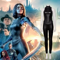 《Alita: Battle Angel》 Battle Angel Alita Cosplay Costume Outfit Manyluyunxiao