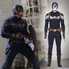 《Marvel'S The Avengers4》 Captain America Cosplay Costume Outfit Manyluyunxiao