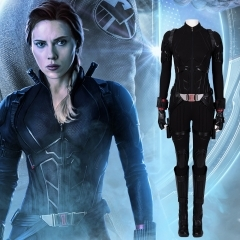 《Marvel'S The Avengers4》 Black Widow Natasha Romanoff Cosplay Costume Outfit Manyluyunxiao