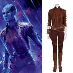 The Avengers Endgame Nebula cosplay costume suit (A)