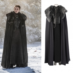 Game of Thrones 8 Sansa Stark cosplay costume