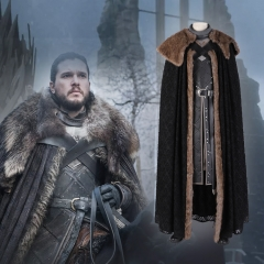 Game of Thrones 8 Jon Snow cosplay outfit