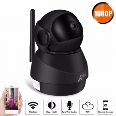 Anran 1080P wireless smart home security camera wifi video robot camera security system for home