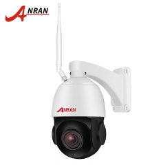 ANRAN PTZ 4x Optical Zoom High Speed wireless wifi Home Security Dome Camera with Two-Way Audio