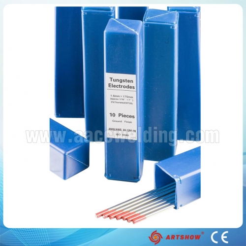 China Wholesales W1 Tungsten Electrodes 2% Thoriated Welding Electrodes