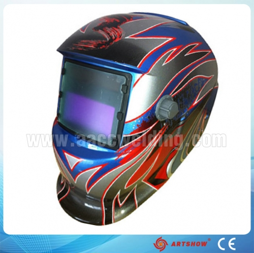 Quality auto darkening welding helmet OEM with lowest prices