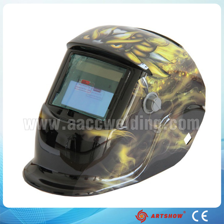 Auto darkening welding helmet OEM with lowest prices