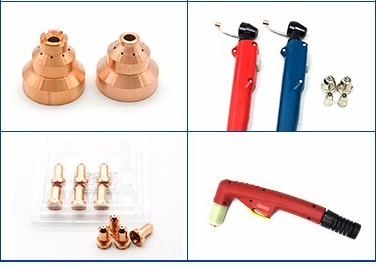 Welding torch and accessories mig ,contact tip,Insulated liner,gas nozzle,nozzle spring