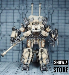 TF Dream Factory GOD-02 Tank Warrior Desert Color