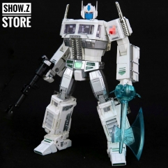 4th Party MP10U Ultra Magnus White w/ Trailer