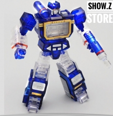 Mech Planet Hot Soldiers HS03H Mini Soundwave Clear Version