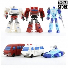 DX9 Toys War In Pocket X01 X02 X03 Campaigners Set of 3