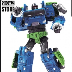 Machine Boy MBD Mammoth On Slaught Combaticons Bruticus