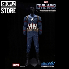 Killerbody Hero 1/1 Captain America Civil War Wearable Suit Cosplay Custom