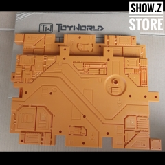 Toyworld Display Bases 2 Pieces Orange Color