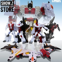 Jujiang JJ-02 Jet Commander Combiner Set of 5 (C0ncorde, Harrier, Phantom, Eagle & Falcon)