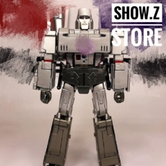 4th Party MP36 Megatron MAGTEN Silver Paint Version
