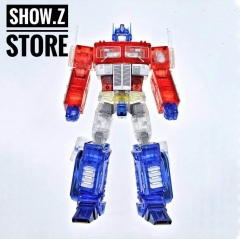4th Party MP10C Optimus Prime Clear Version /w Trailer