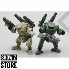 [Pre-Order] MechFansToys MFT Lost Planet Powered-suit DA04 Desert & DA05 Green Diaclone