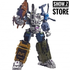 Iron Factory IF-EX22 EX23 EX24 War Giant Bruticus Full Set