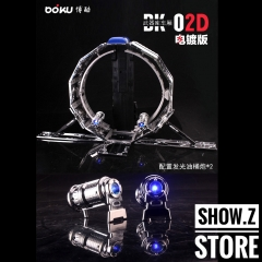 BOKU BK-02D Trailer For Leader MP10 Optimus Prime Chrome Version