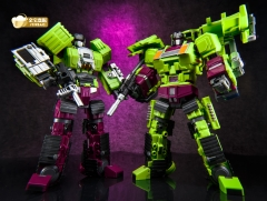 [New in Box] Jinbao Oversized Devastator Navvy & Bulldozer Scavenger & Bonecrusher [Set A]