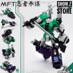 MechFansToys MFT MF-27G SixNinja Sixshot G1 Version