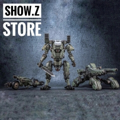 JoyToy Source Acid Rain TK01 Tiekui Mech & Multifuctional Vehicle & Turret Green Version