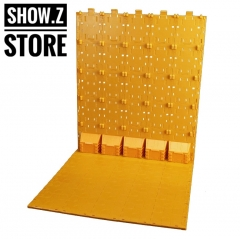X2Toys BG-A Background Display Bases Orange Color