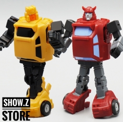Mech Planet Hot Soldiers HS-15 Cliffjumper & HS-16 Hubcup Set of 2