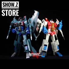 Robot Hero RH CG-01 MP11 Starscream & CG-02 MP03 Starscream Green Set of 2 w/ Upgrade Kits