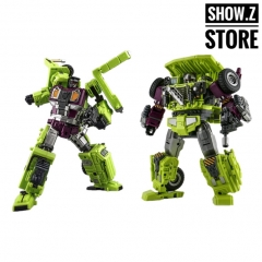 [In Coming][New in Box] Jinbao Oversized Devastator Long Haul & Hook [Set C]