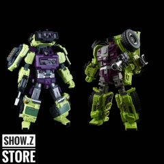 [New in Box] Jinbao Oversized Devastator Scrapper & Mixmaster [Set B]
