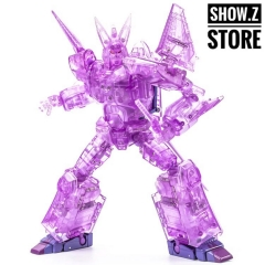 XTransbots MX-III Eligos Cyclonus Clear Version