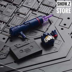 Model Model-002 MP13 Soundwave Upgrade Kits /w Lit Heads, Extra Pistol and Cassette