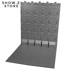 X2Toys BG-C Background Display Bases Grey Color