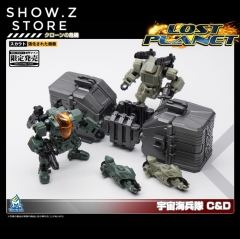 MechFansToys MFT Lost Planet Powered-suit DA08C & DA09D Diaclone Mech Fans Toys