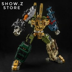 [Pre-Order] Iron Factory IF-EX24X War Giant Catastrophe Bruticus TF2000 Color Scheme Version