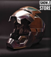 [Remote Version] [Metal Made] Cattoys 1:1 Iron Man Mark 42 Mark 43 Helmet MK42 MK43 Replica w/ LED