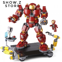 [No Box] Lepin 07101 The Hulkbuster Ultron Edition 76105 1527Pcs Marvel Super Heroes Series Anti Hulk Mech