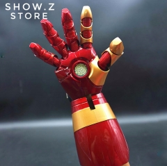 Cattoys 1:1 Iron Man Mark42 Mark43 Right Arm Blaster Gauntlet w/ LED Wearable