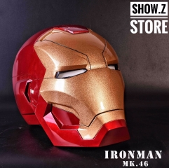 [Remote Version] Cattoys 1:1 Iron Man Mark 46 Helmet MK46 Replica w/ LED