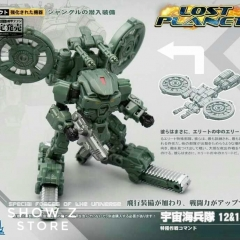 MechFansToys Mech Fans Toys MFT Lost Planet Powered-suit DA12 & DA13 Jungle Color Version