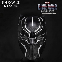 Killerbody Civil War 1/1 Scale Black Panther Helmet
